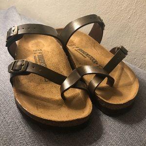 Birkenstock Mayari Birkibuc Birko-Flor Sandal